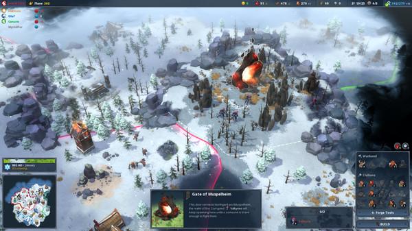 скриншот Northgard 3