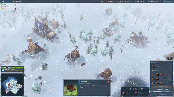 скриншот Northgard 6