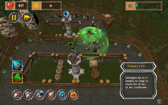 скриншот King's Guard TD 7
