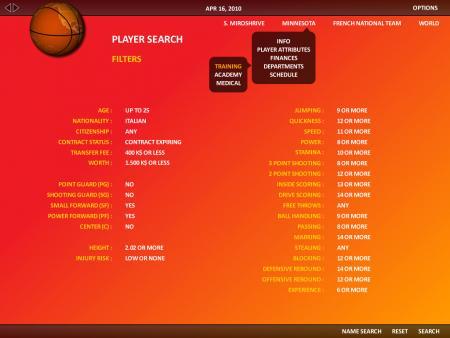 World Basketball Manager 2010