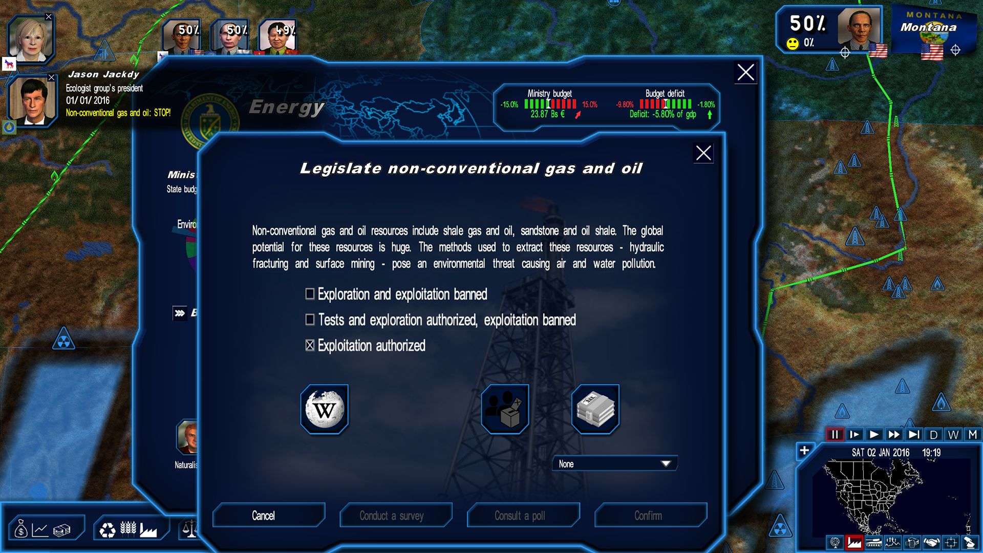 mission president geopolitical simulator gratuit
