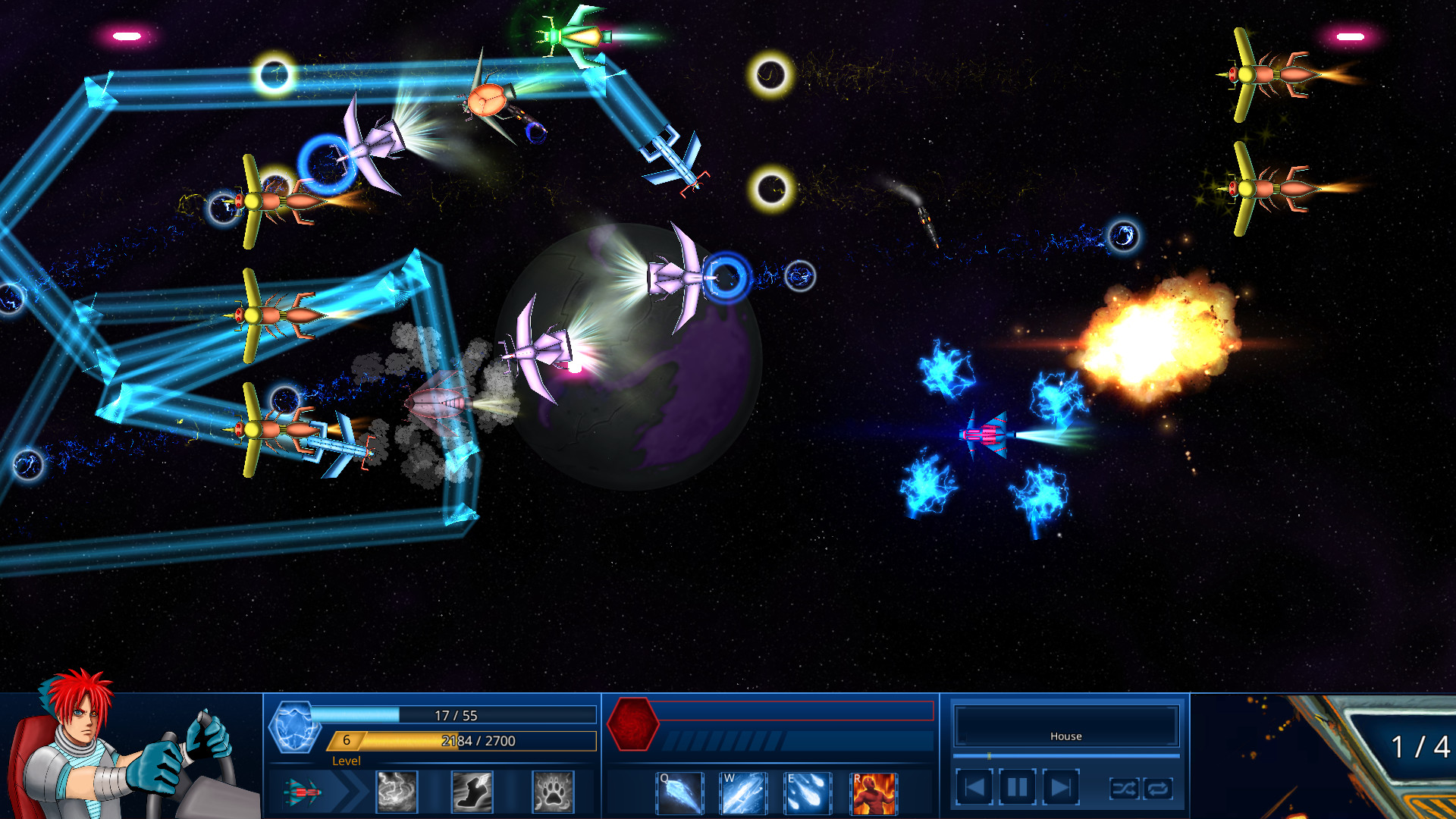 Survive in Space Screenshot 2