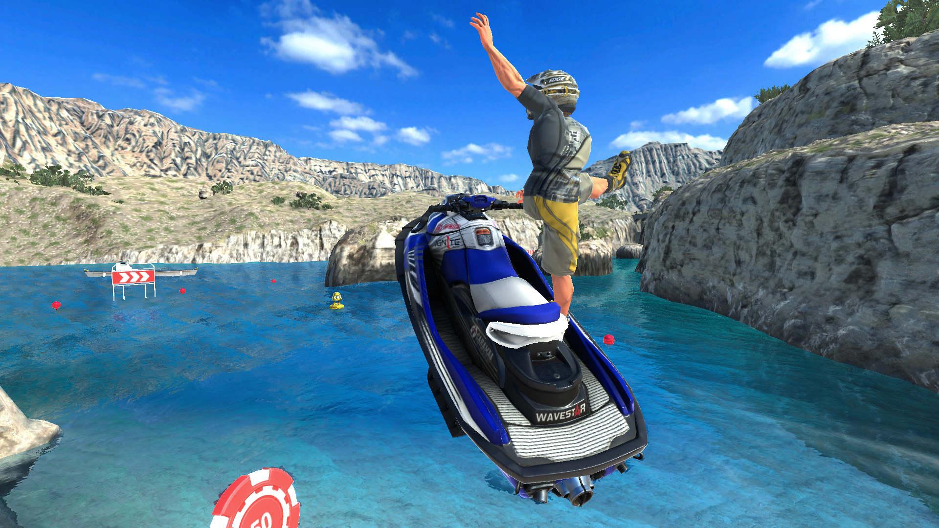 Aqua Moto Racing Utopia Screenshot 3