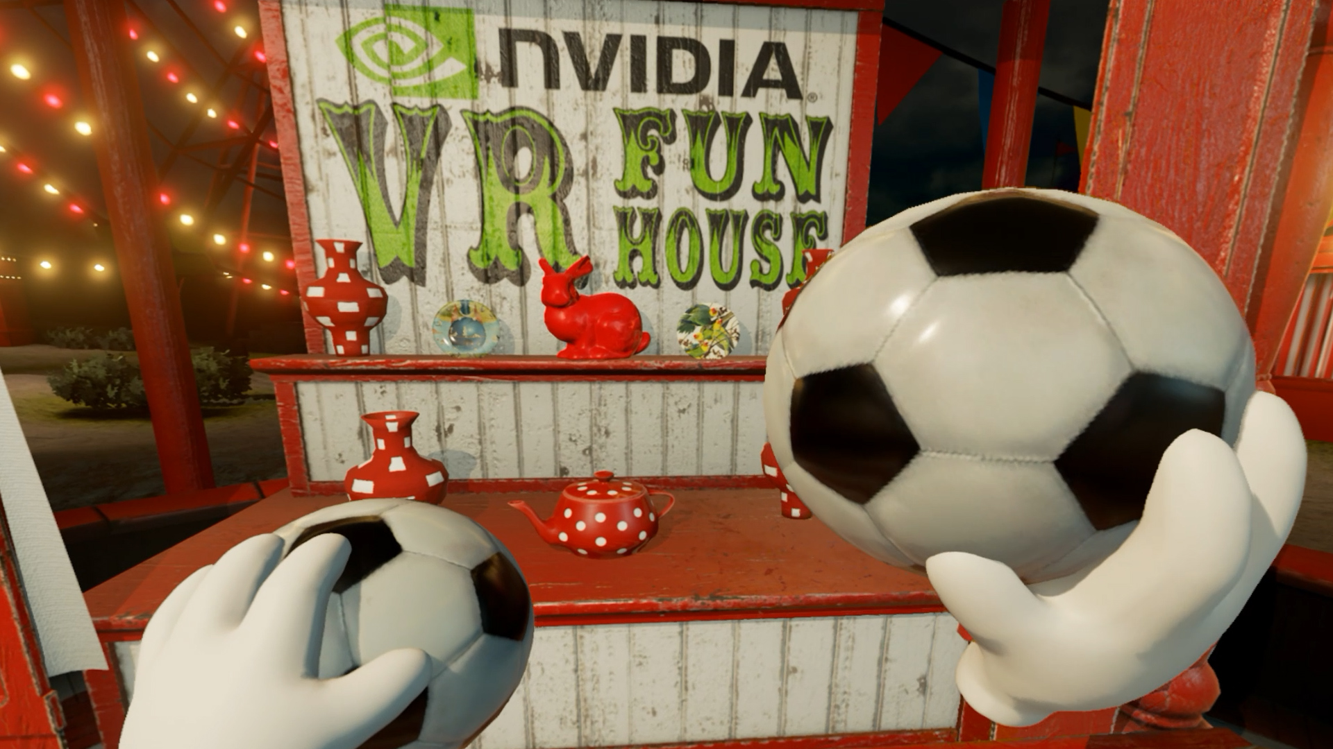 NVIDIA® VR Funhouse on Steam