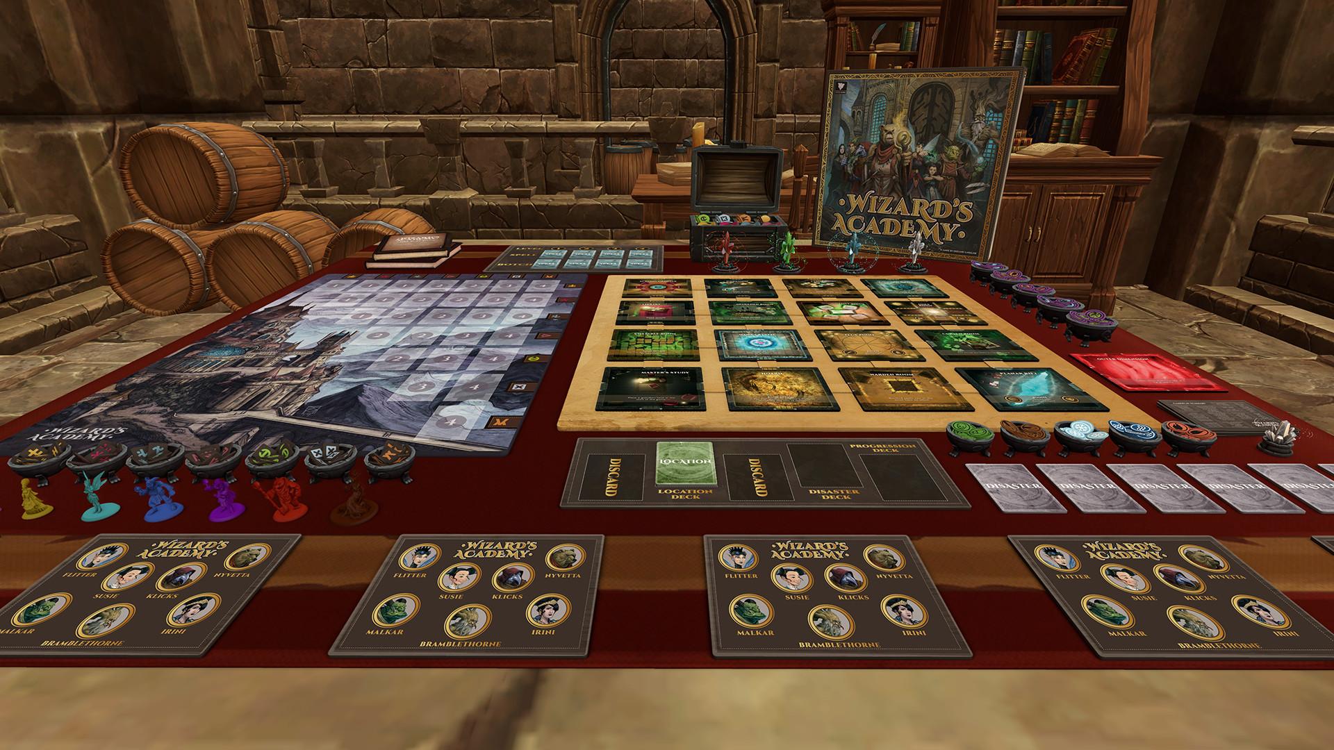 Tabletop Simulator Wizard S Academy On Steam