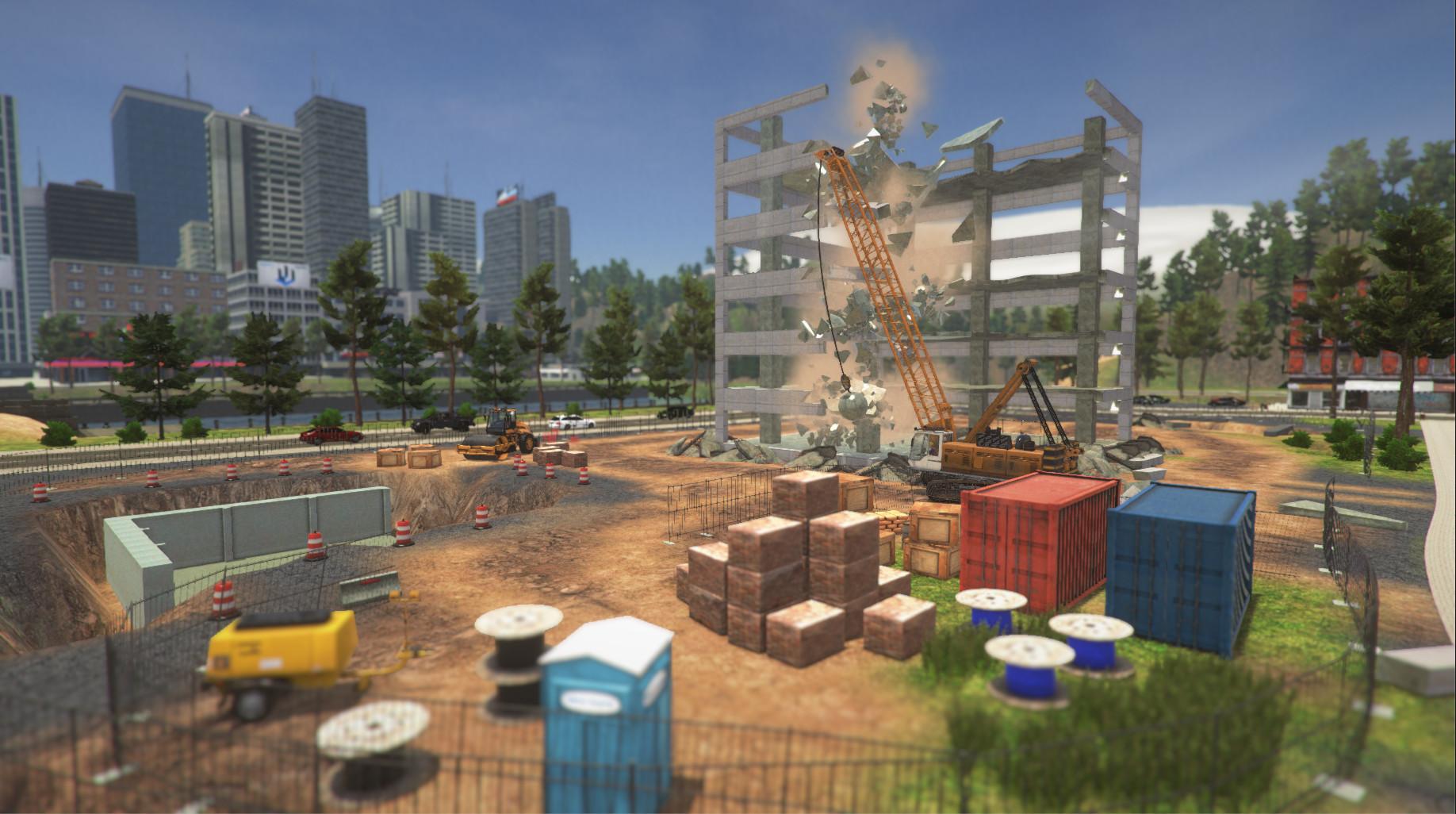 Demolish and Build Company 2017 Screenshot 3
