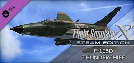 FSX Steam Edition: F-105D Thunderchief Add-On
