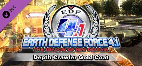 Depth Crawler Gold Coat cover art