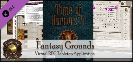 Fantasy Grounds - Tome of Horrors 4 - PFRPG