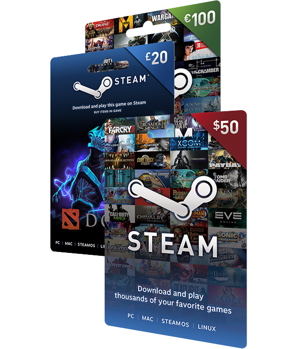 Steam Gift Cards On Steam