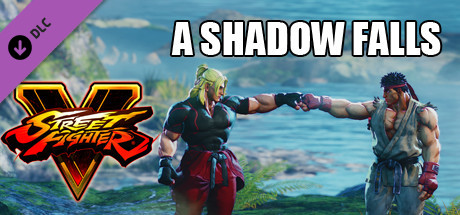 """STREET FIGHTER V General Story """"A Shadow Falls"""" cover art"""