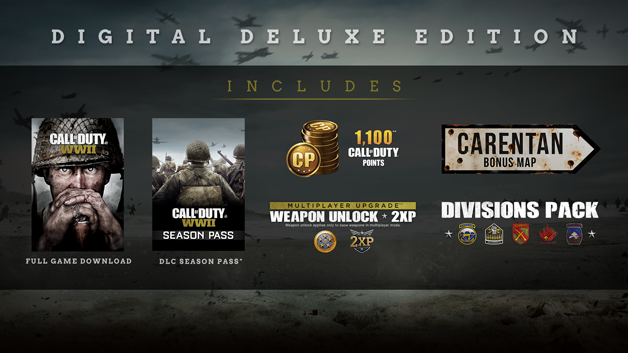 Call of duty wwii on steam digital deluxe edition gumiabroncs Image collections