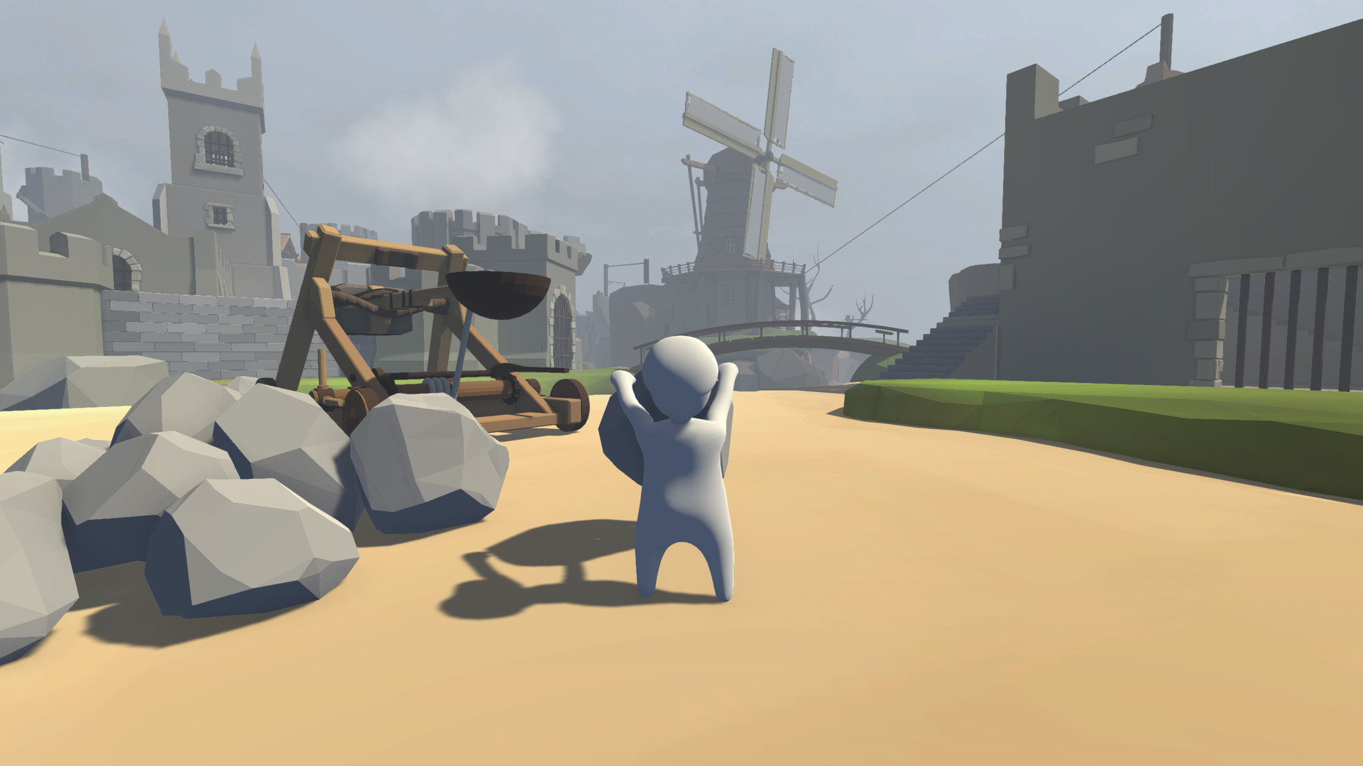 download human fall flat holiday cracked by plaza platformer puzzle games include all dlc and latest update mirrorace multiup