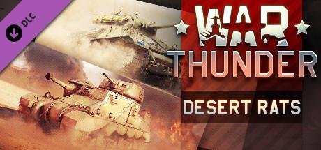 War Thunder - Desert Rats Pack