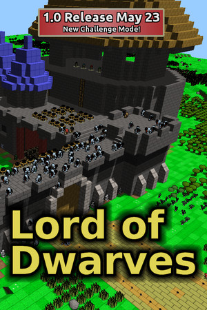 Lord of Dwarves poster image on Steam Backlog