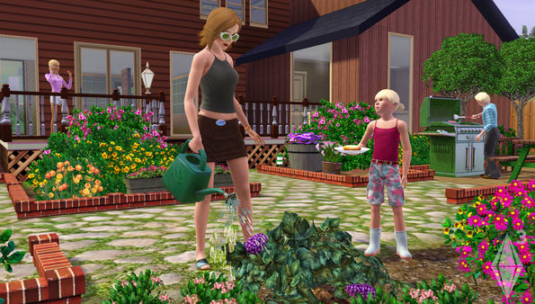 скриншот The Sims 3 4