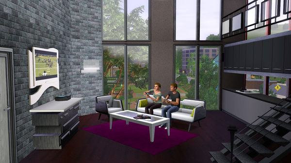 скриншот The Sims 3 High-End Loft Stuff 0