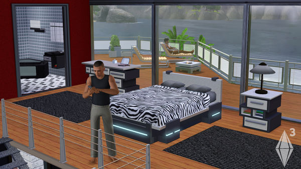 The Sims 3 High-End Loft Stuff