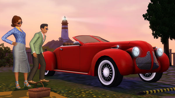 скриншот The Sims 3 Fast Lane Stuff 2