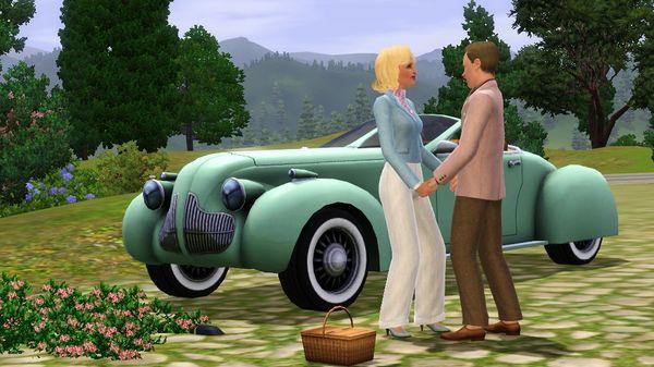 скриншот The Sims 3 Fast Lane Stuff 4