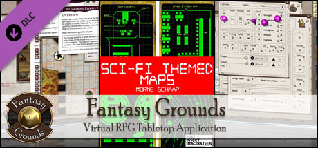 Fantasy Grounds - Sci-fi Themed Maps