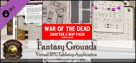 Fantasy Grounds - War of the Dead Chapter 2 Map Pack