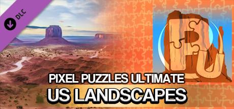 Jigsaw Puzzle Pack - Pixel Puzzles Ultimate: U.S. Landscapes