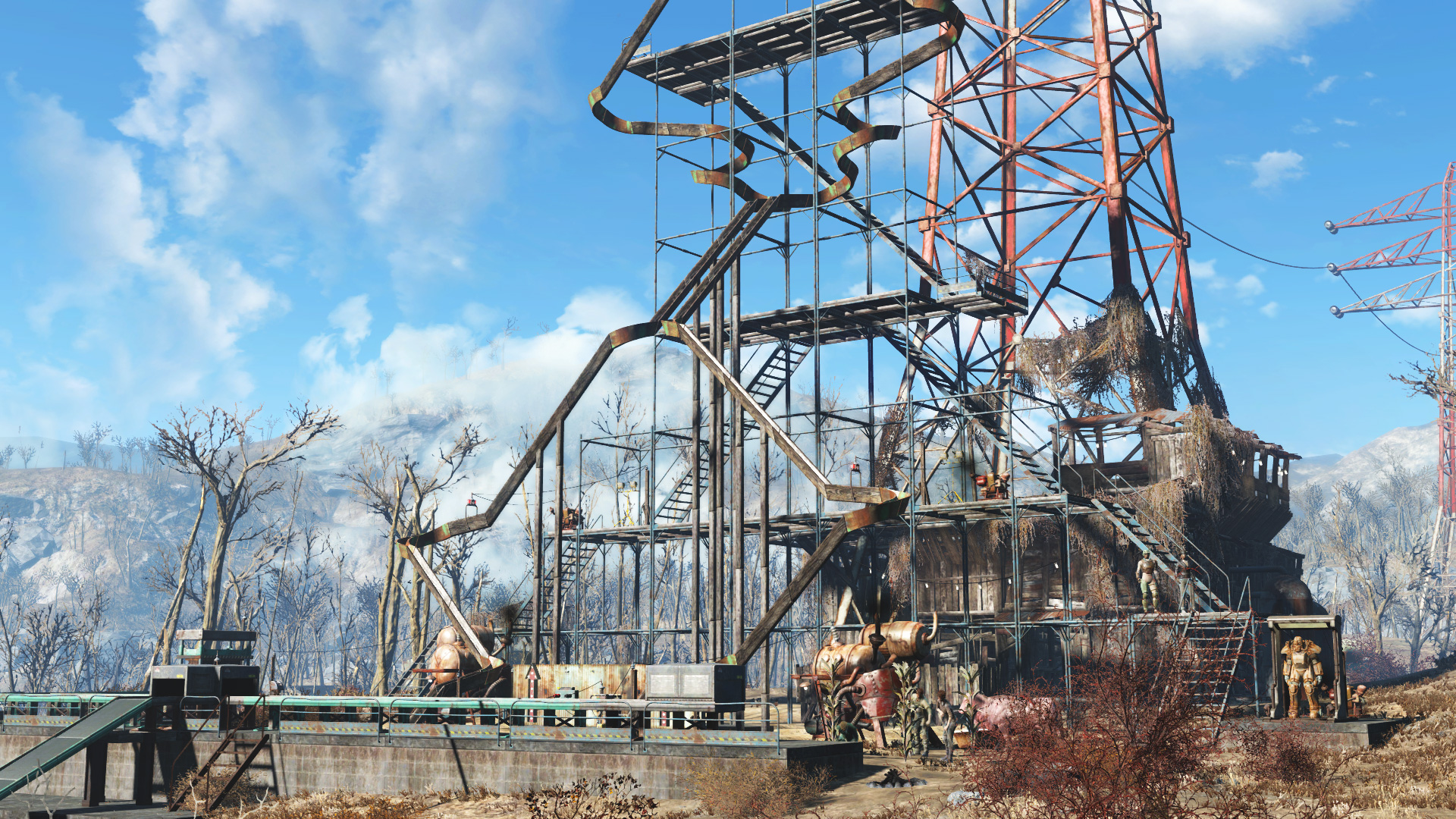 Fallout 4: Contraptions Workshop DLC Screenshot 3