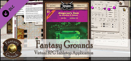Fantasy Grounds - 5E: Alagoran's Gem