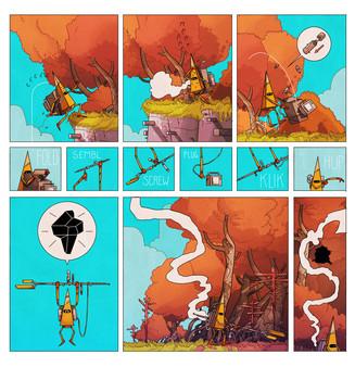 скриншот On Rusty Trails - The Digital Comic 2
