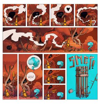 скриншот On Rusty Trails - The Digital Comic 3