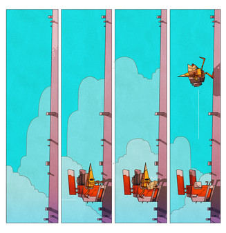 скриншот On Rusty Trails - The Digital Comic 1