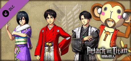 Attack on Titan - Costume Set - Japanese New Year
