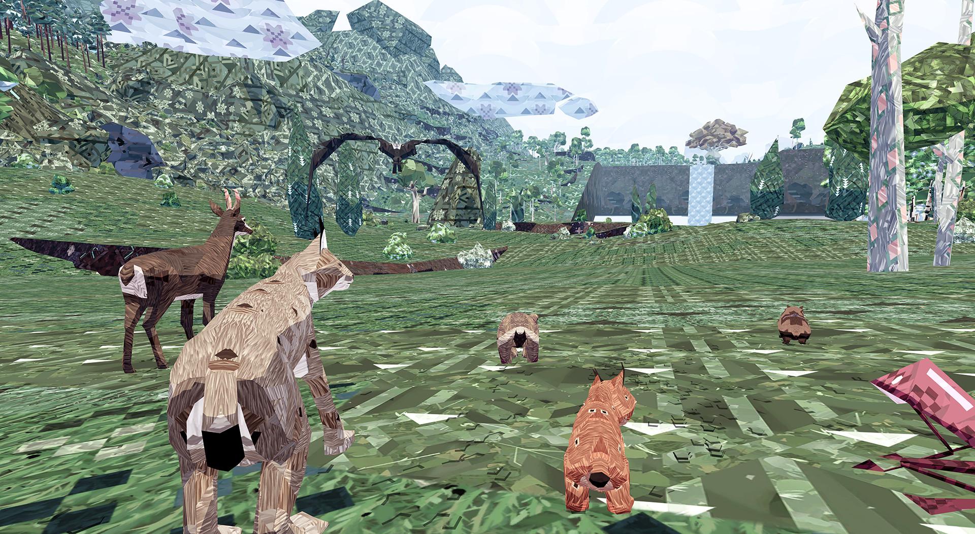 Game meadowgame meadow run