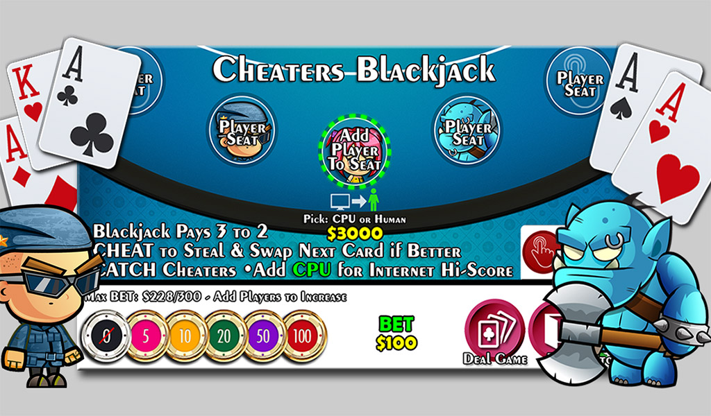 Player vs player blackjack