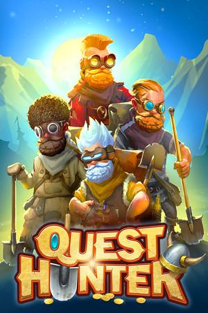 Quest Hunter poster image on Steam Backlog