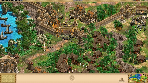 Age of Empires II HD: Rise of the Rajas Screenshot