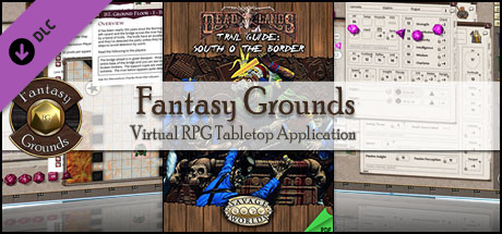 Fantasy Grounds - Deadlands: South 'o The Border Trail Guide