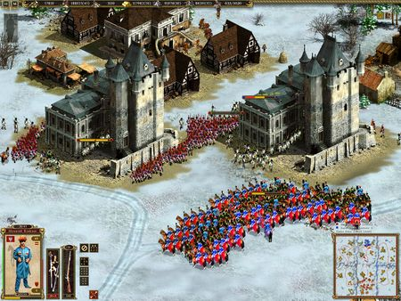 Скриншот из Cossacks II: Battle for Europe