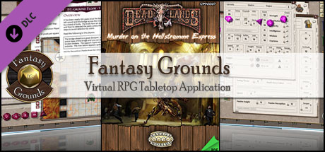 Fantasy Grounds - Deadlands Reloaded: Murder on the Hellstromme Express