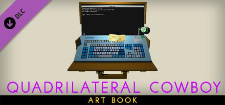 Quadrilateral Cowboy Art Book
