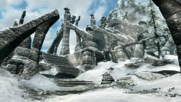 Скриншот №1 к The Elder Scrolls V: Skyrim Special Edition