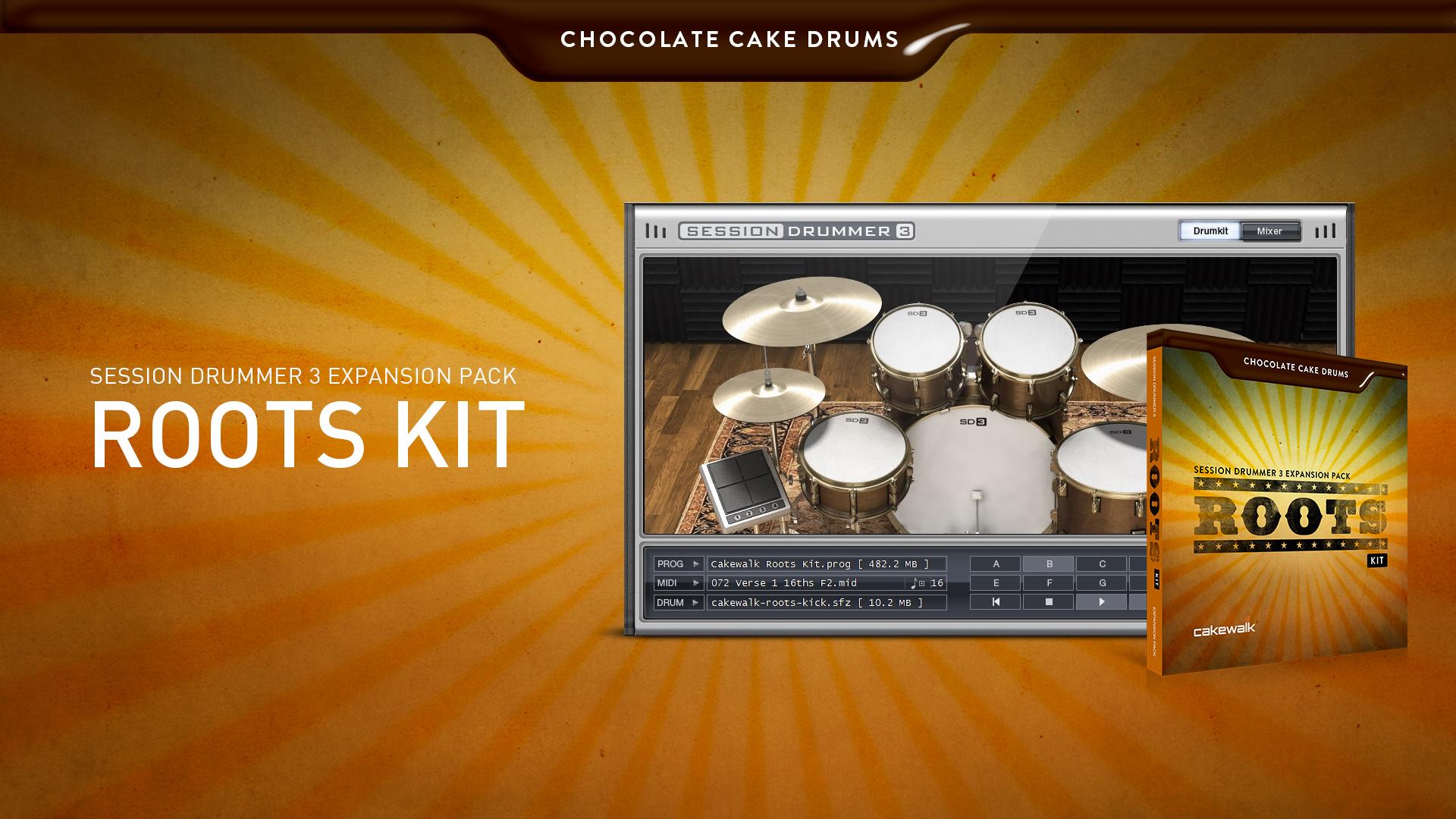 게임정보 - Xpack - SD3: Chocolate Cake Drums - Roots Kit