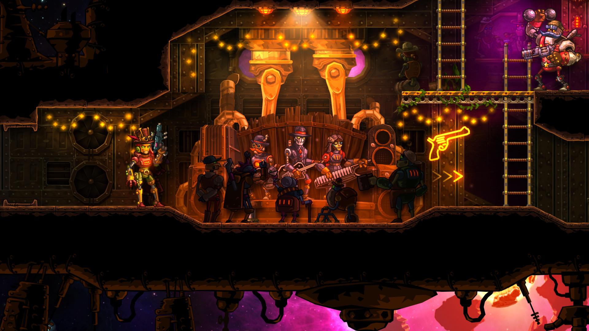 Music From Steamworld Heist Steam Powered Giraffe On Steam