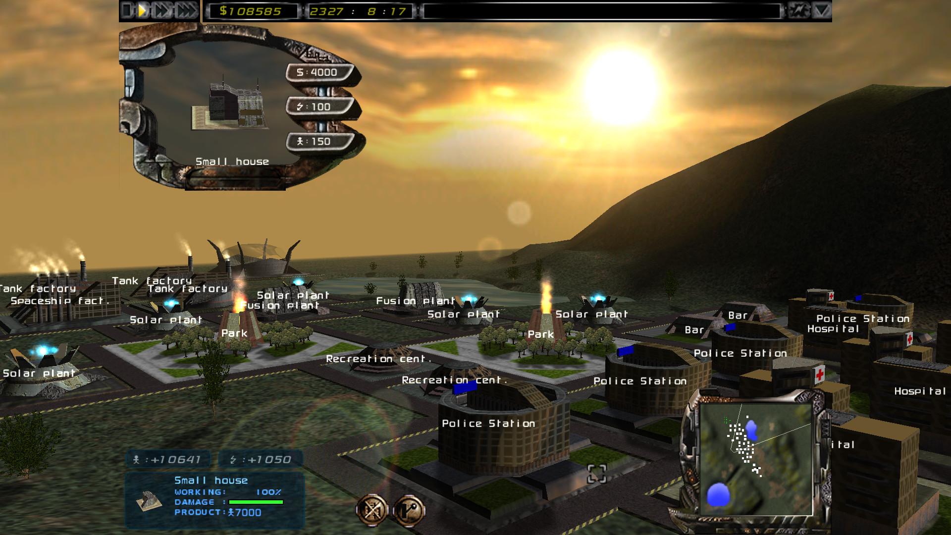 Imperium Galactica II Screenshot 1