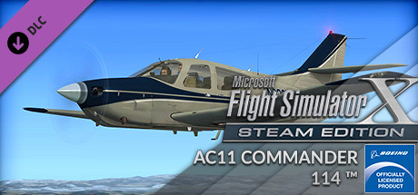 FSX Steam Edition: Rockwell AC11 Commander 114™ Add-On