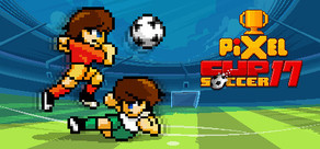 Pixel Cup Soccer 17 cover art