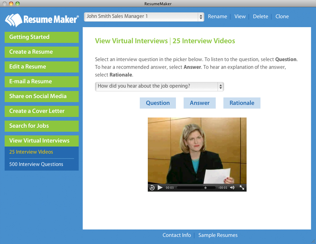 resume maker u00ae for mac on steam