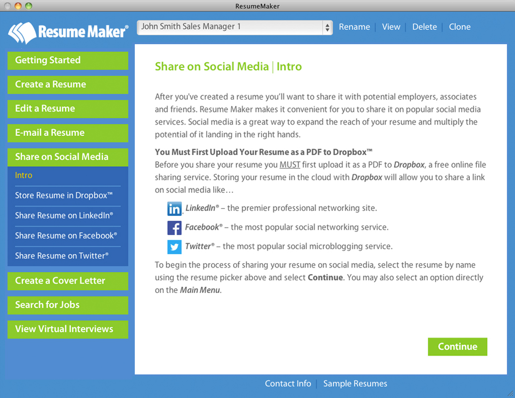 Resume Maker® for Mac on Steam