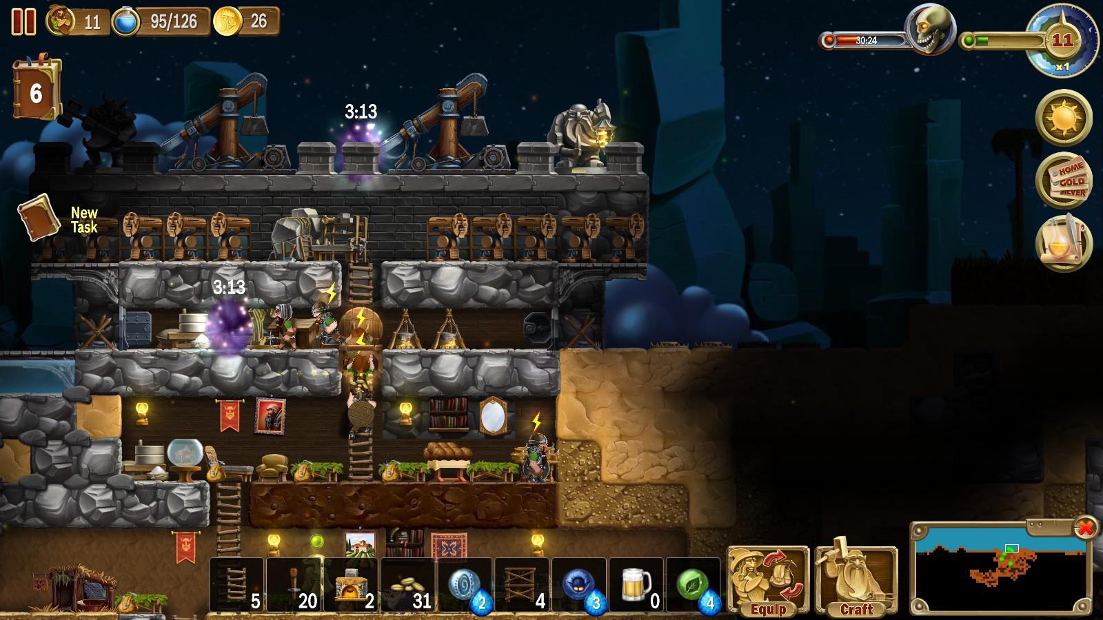 Craft The World Steam Achievements